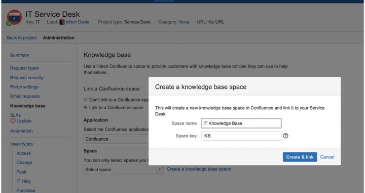 Como crear una base de conocimiento con JIRA Service Desk y Confluence